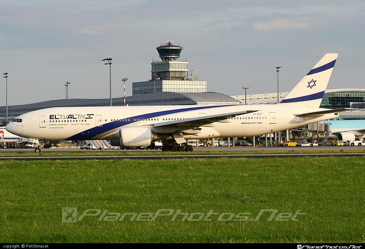 Boeing 777-200ER - 4X-ECF operated by El Al Israel Airlines #b777 #b777er #boeing #boeing777 #elal #elalisraelairlines #israelairlines #tripleseven