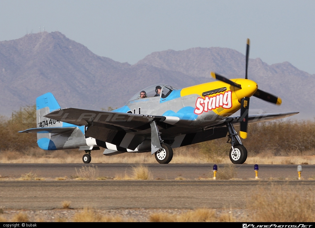 North American P-51D Mustang - N151RJ operated by Private operator #northamerican