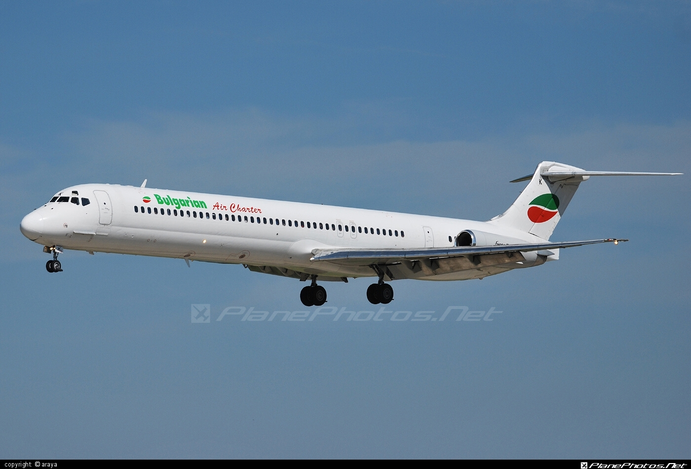 McDonnell Douglas MD-82 - LZ-LDK operated by Bulgarian Air Charter #bulgarianaircharter #mcdonnelldouglas #mcdonnelldouglas80 #mcdonnelldouglas82 #mcdonnelldouglasmd80 #mcdonnelldouglasmd82 #md80 #md82