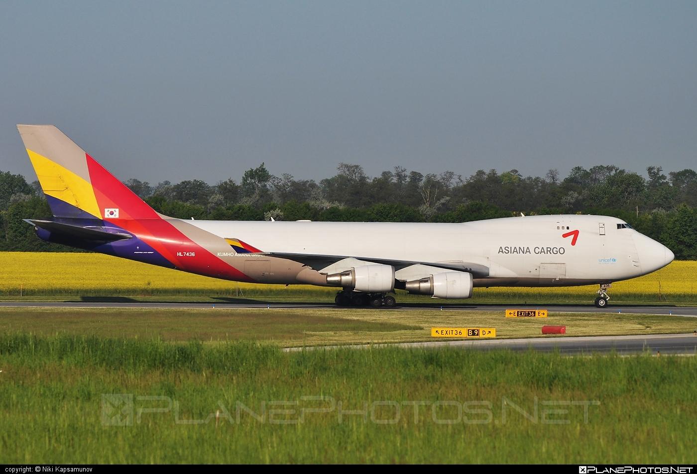 Asiana Cargo Boeing 747-400F - HL7436 #asianacargo #b747 #boeing #boeing747 #jumbo