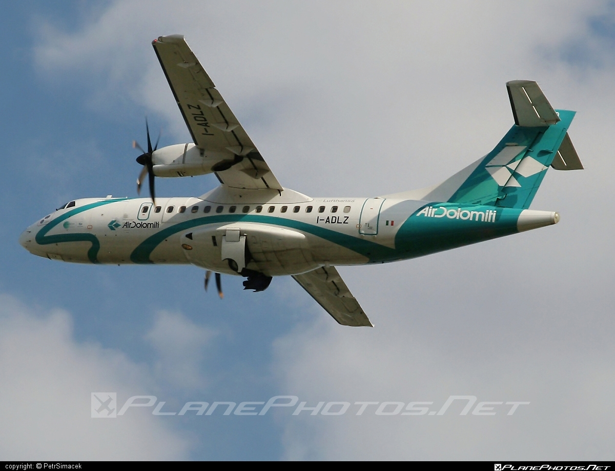 ATR 42-500 - I-ADLZ operated by Air Dolomiti #airdolomiti #atr #atr42 #atr42500