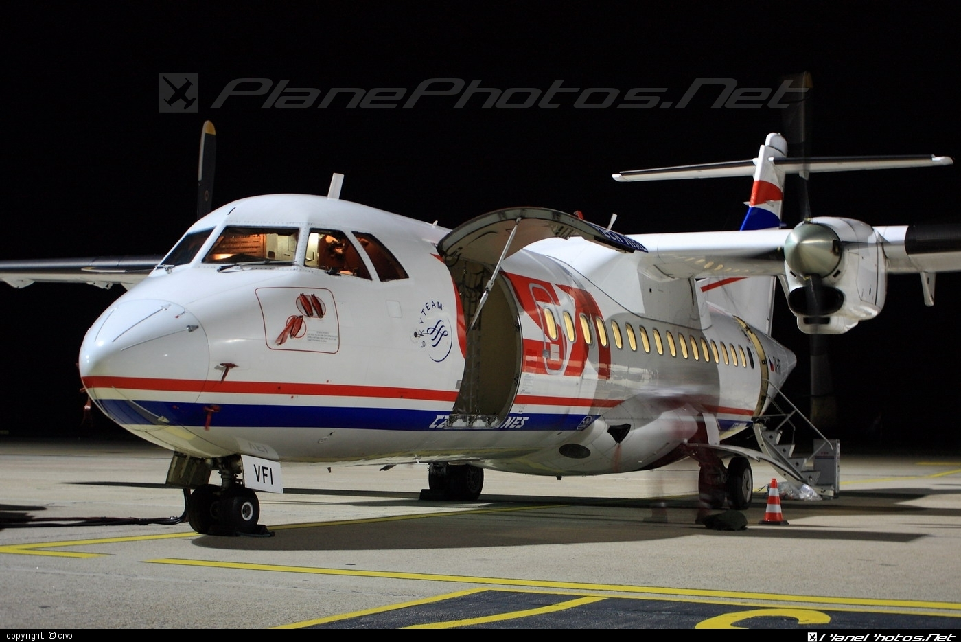 ATR 42-300 - OK-VFI operated by CSA Czech Airlines #atr #atr42 #atr42300 #csa #czechairlines