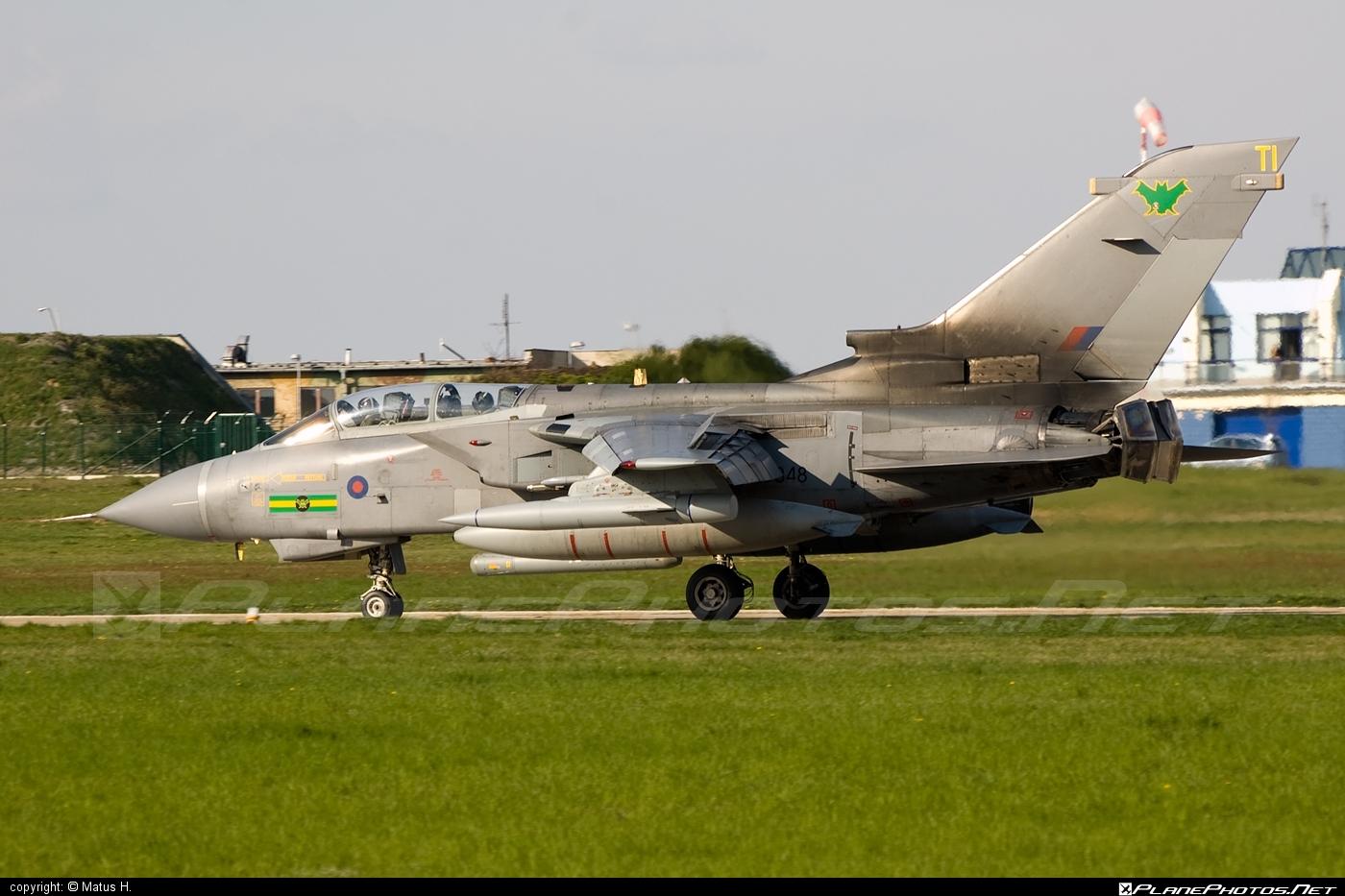 Panavia Tornado GR.4 - ZD848 operated by Royal Air Force (RAF) #panavia #panaviatornado #raf #royalairforce #tornadogr4