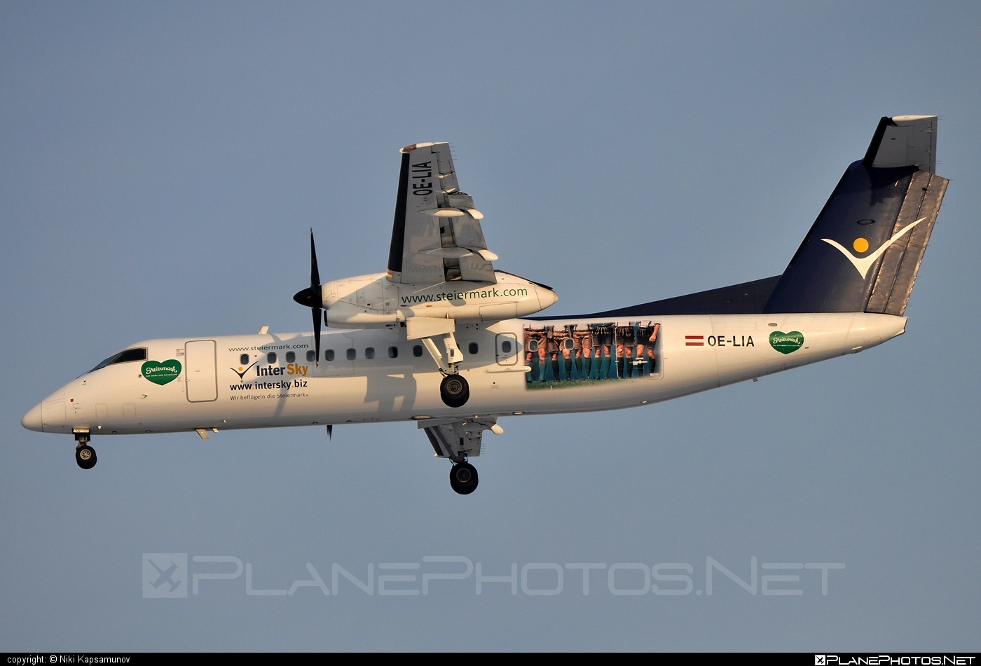 Bombardier DHC-8-314 Dash 8 - OE-LIA operated by InterSky #bombardier