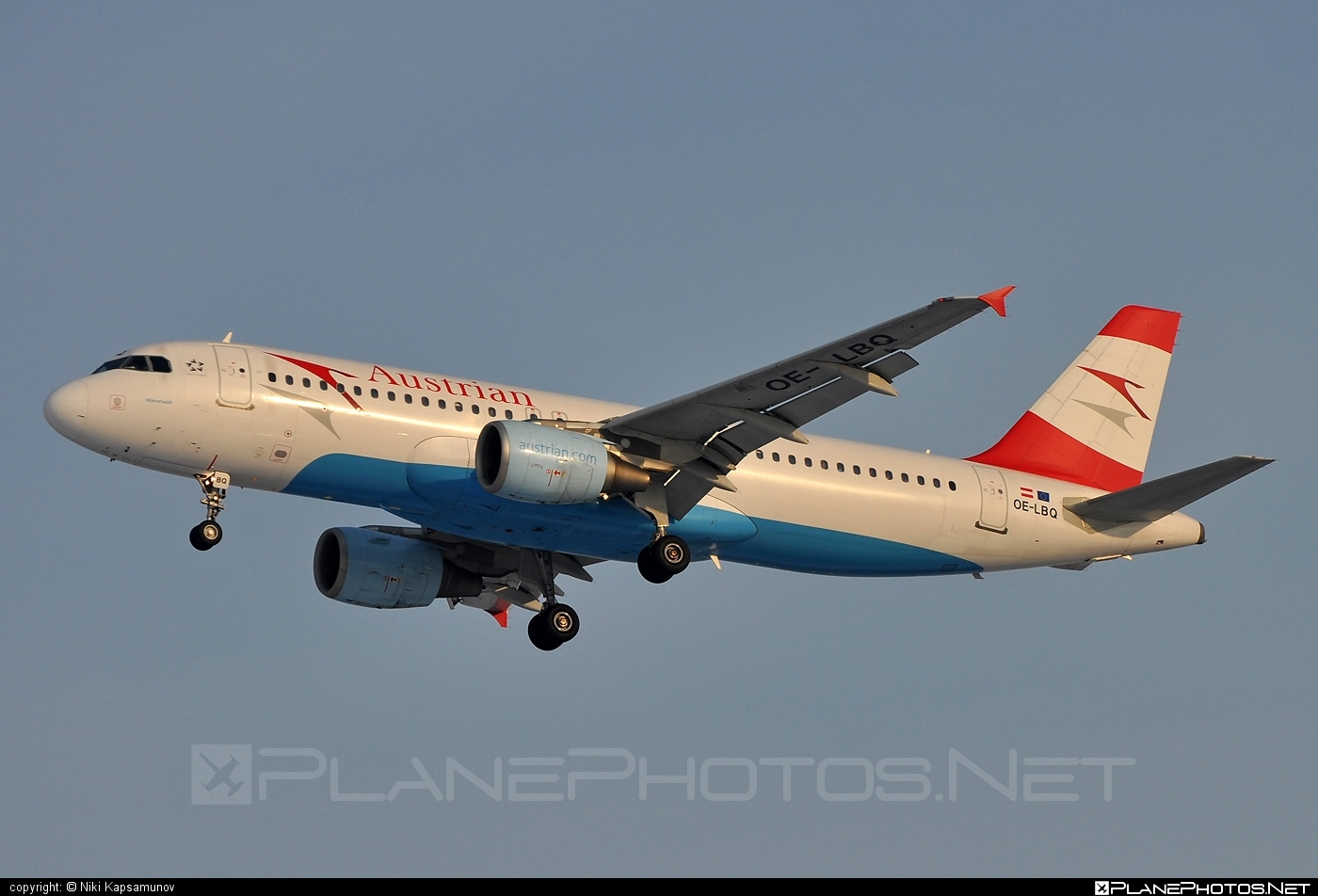 Airbus A320-214 - OE-LBQ operated by Austrian Airlines #a320 #a320family #airbus #airbus320