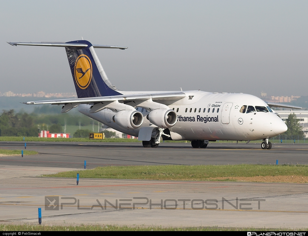 Lufthansa CityLine British Aerospace Avro RJ85 - D-AVRB #britishaerospace