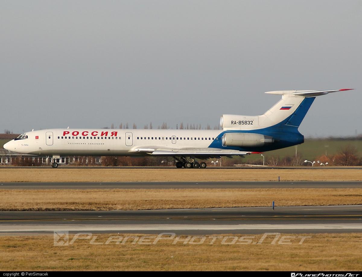 Tupolev Tu-154M - RA-85832 operated by Rossiya Airlines #tu154 #tu154m #tupolev