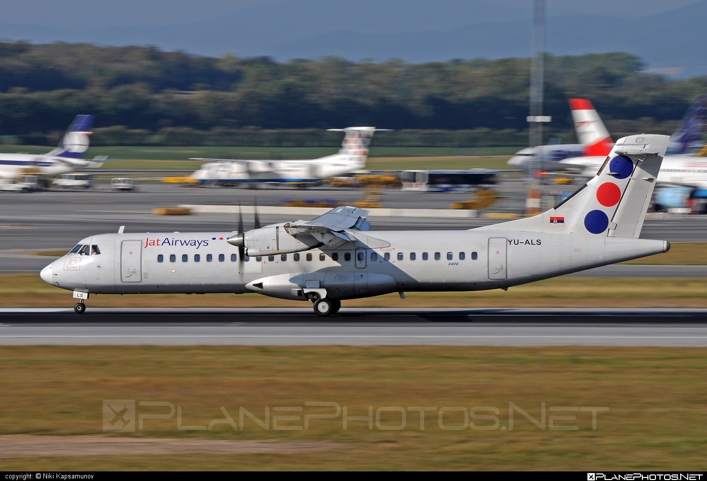 ATR 72-201 - YU-ALS operated by Jat Airways #atr