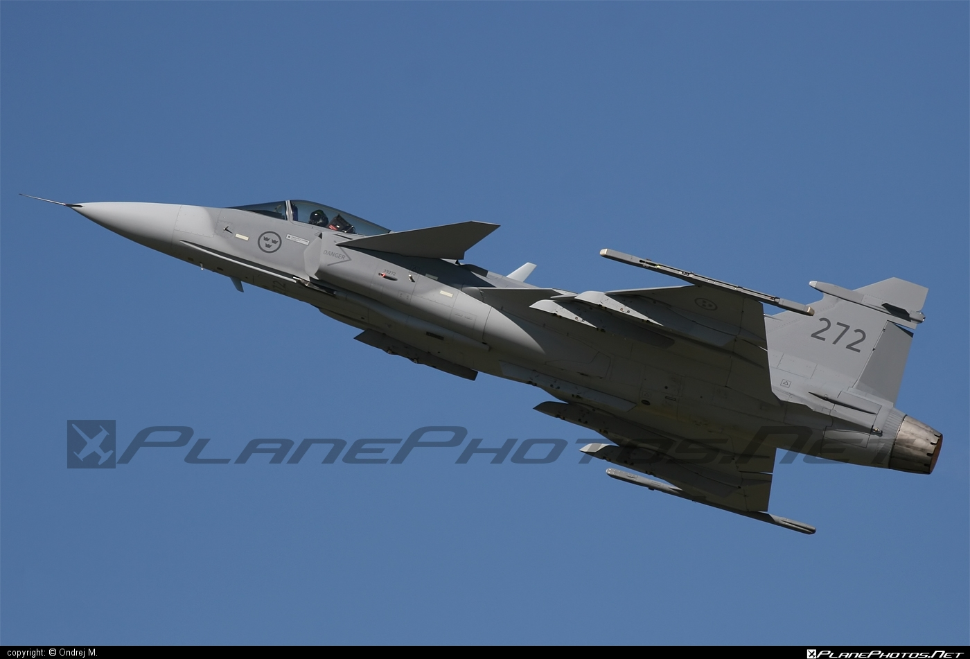 Saab JAS 39C Gripen - 39272 operated by Flygvapnet (Swedish Air Force) #flygvapnet #gripen #jas39 #jas39c #jas39gripen #saab #swedishairforce