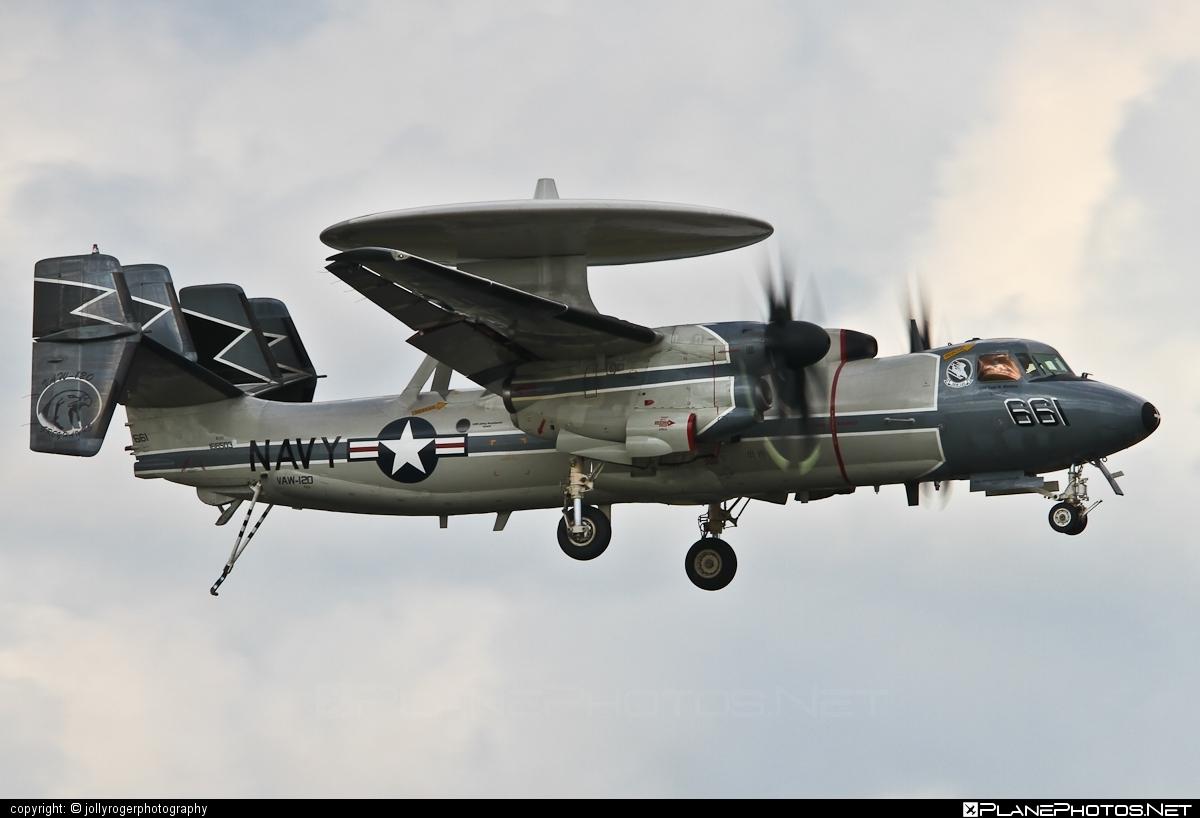 Grumman E-2C Hawkeye 2000 - 166503 operated by US Navy (USN) #grumman