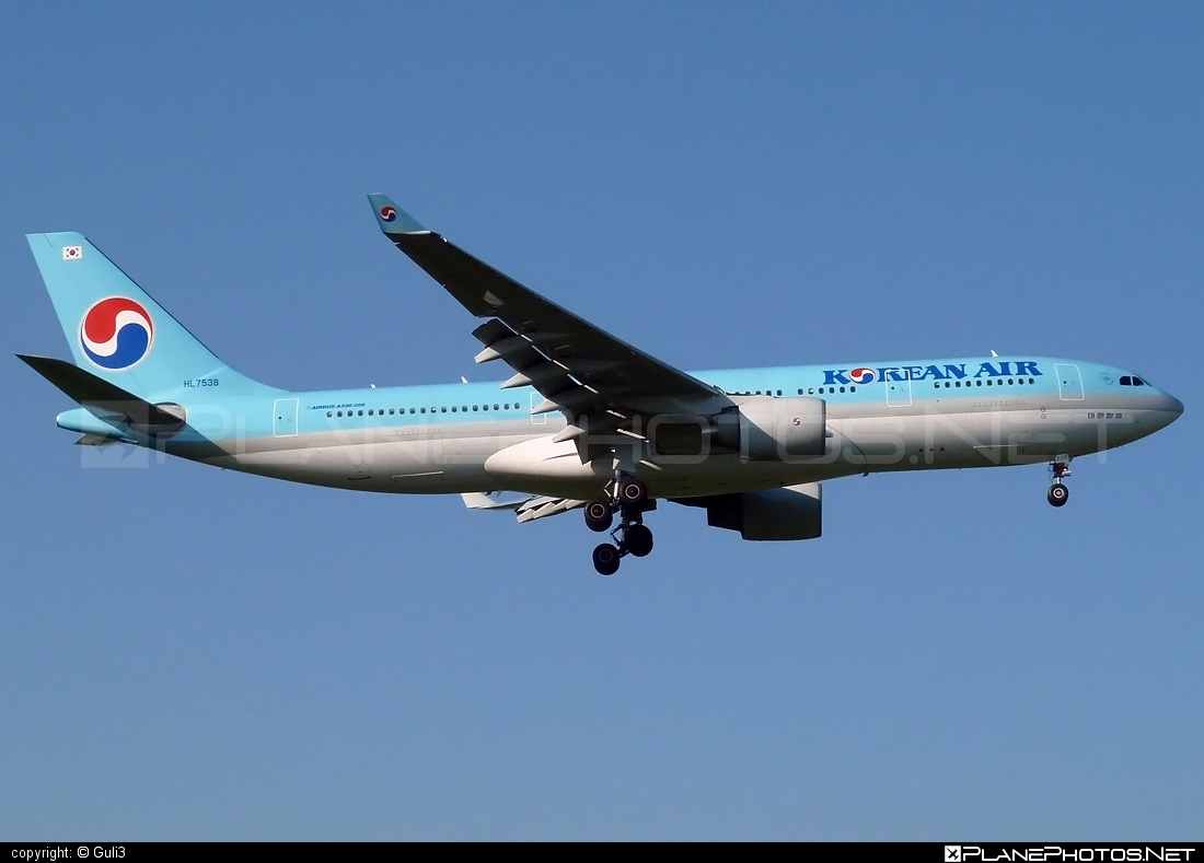 Airbus A330-223 - HL7538 operated by Korean Air #a330 #a330family #airbus #airbus330 #koreanair