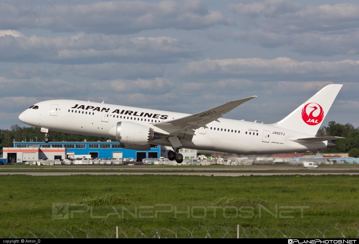 Boeing 787-8 Dreamliner - JA827J operated by JAL Airways #b787 #boeing #boeing787 #dreamliner