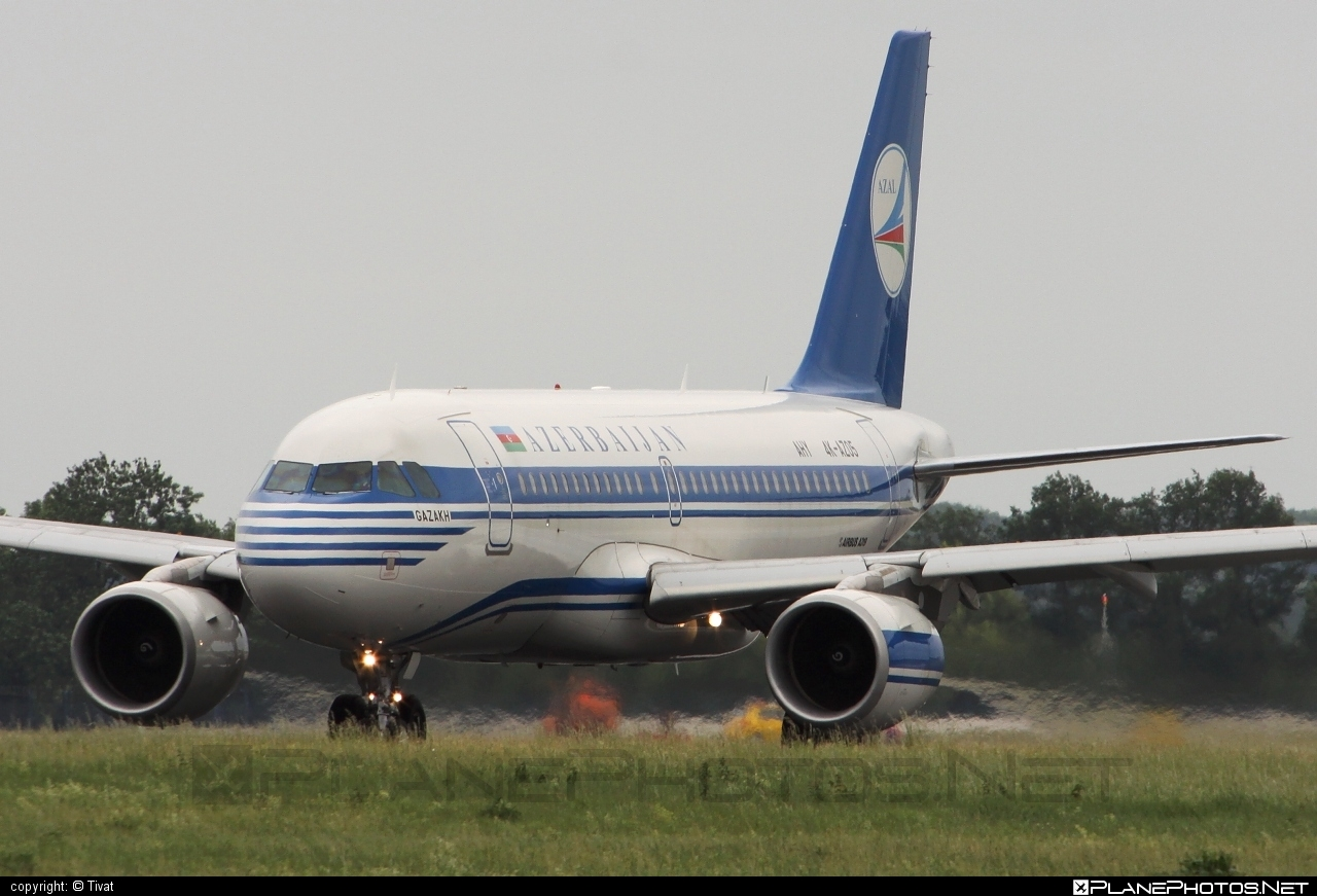 Airbus A319-111 - 4K-AZ05 operated by AZAL Azerbaijan Airlines #a319 #a320family #airbus #airbus319