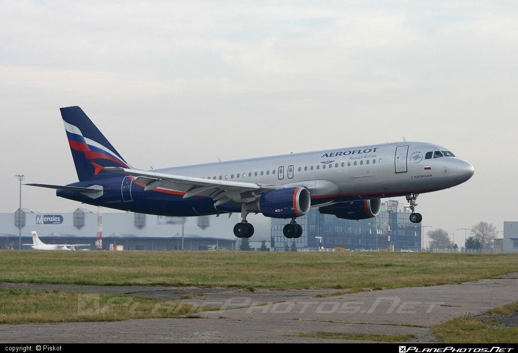 Airbus A320-214 - VP-BQW operated by Aeroflot #a320 #a320family #aeroflot #airbus #airbus320