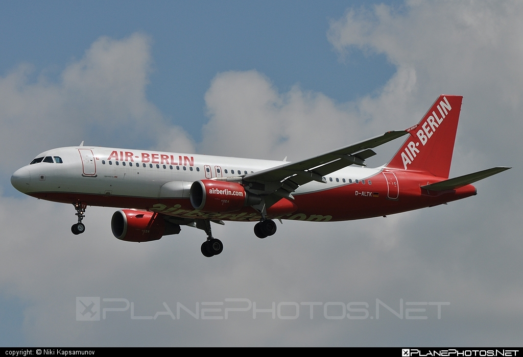 Airbus A320-214 - D-ALTK operated by Air Berlin #a320 #a320family #airberlin #airbus #airbus320