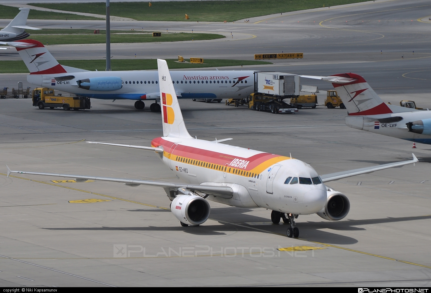 Airbus A319-111 - EC-HKO operated by Iberia #a319 #a320family #airbus #airbus319 #iberia