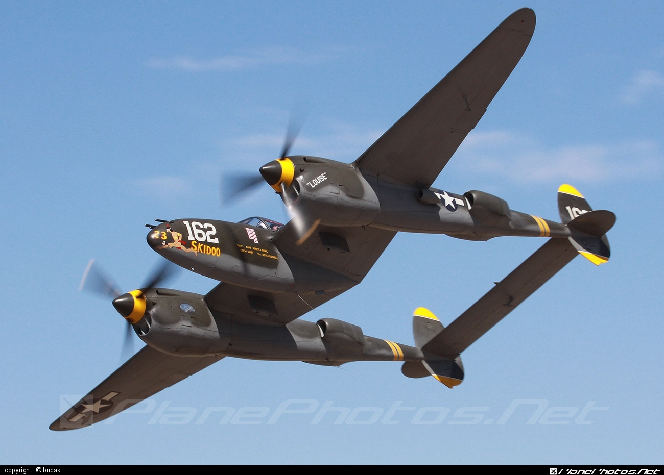 Lockheed P-38J Lightning - N138AM operated by Private operator #lockheed