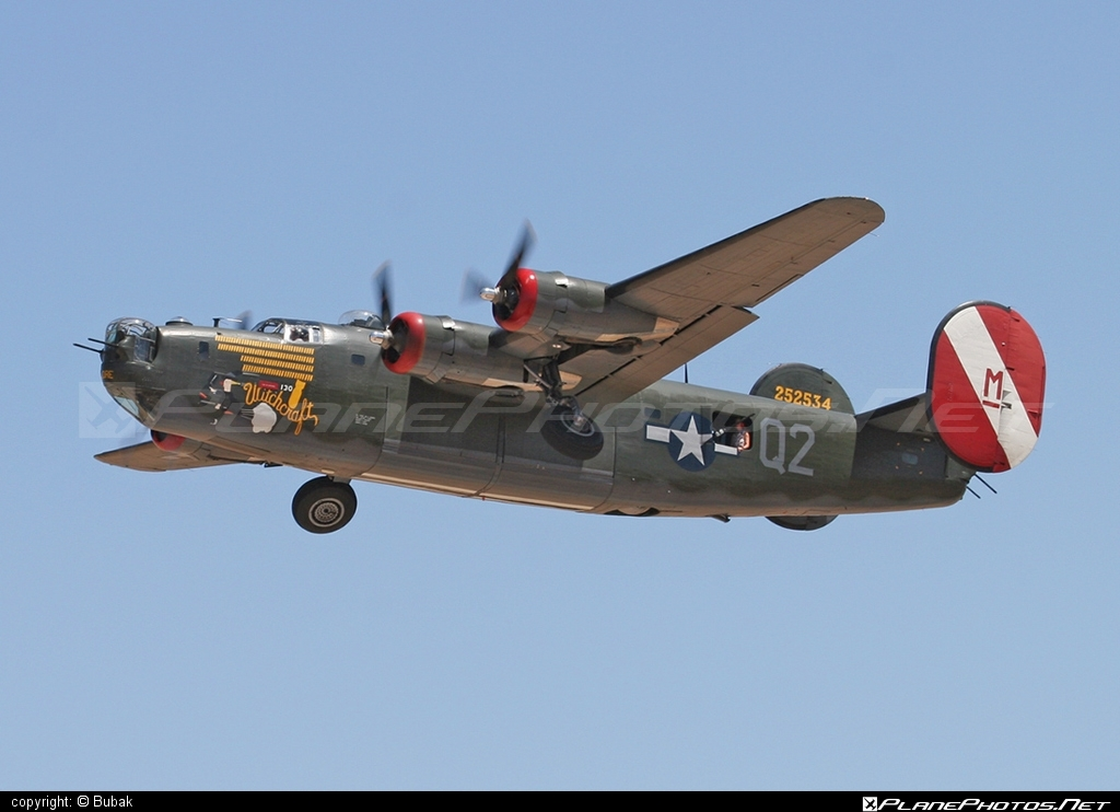 Consolidated B-24J Liberator - N224J operated by Private operator #consolidated