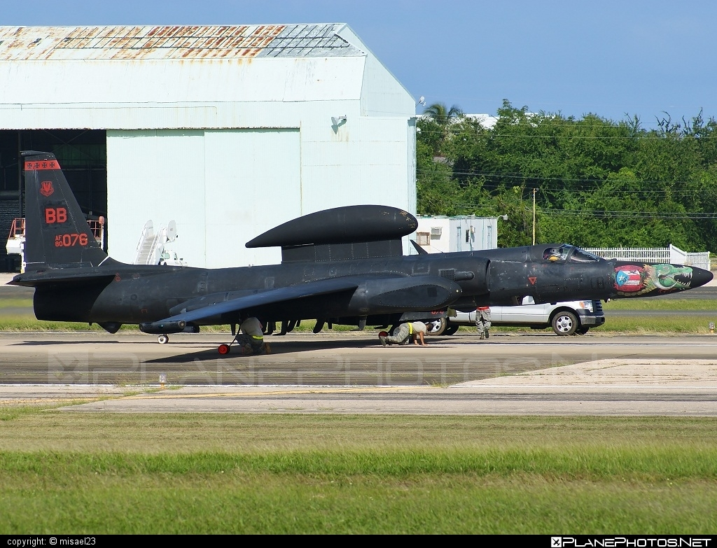 Lockheed U-2S - 80-1076 operated by US Air Force (USAF) #lockheed #usaf #usairforce