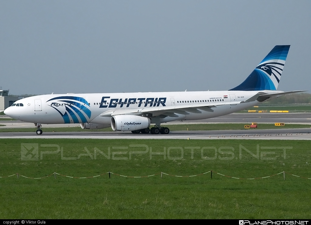 Airbus A330-243 - SU-GCF operated by EgyptAir #a330 #a330family #airbus #airbus330