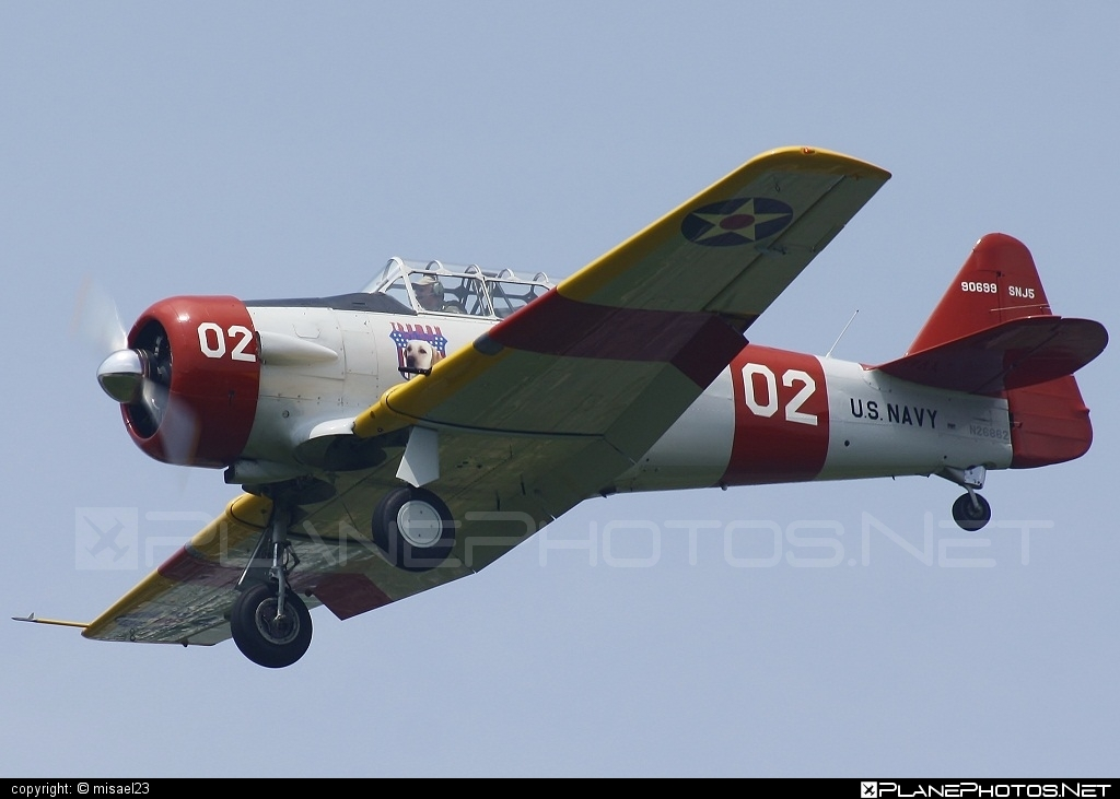 North American SNJ-5 Texan - N26862 operated by Private operator #northamerican