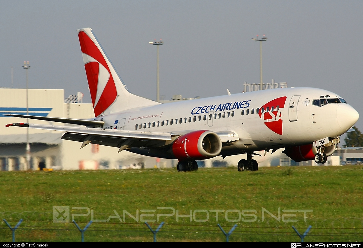 Boeing 737-500 - OK-XGE operated by CSA Czech Airlines #b737 #boeing #boeing737 #csa #czechairlines