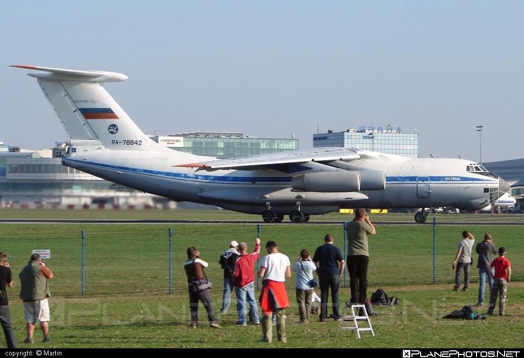 Ilyushin Il-76MD - RA-78842 operated by Voyenno-vozdushnye sily Rossii (Russian Air Force) #il76 #il76md #ilyushin