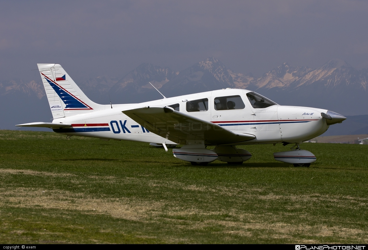 Piper PA-28-181 Archer III - OK-MTT operated by Flying Academy #pa28 #pa28181 #piper #piperarcher #piperarcheriii