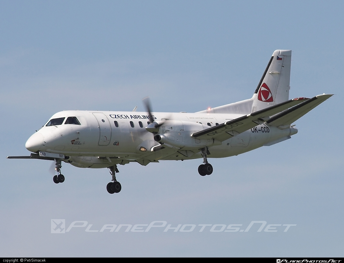 Saab 340B - OK-CCD operated by CSA Czech Airlines #csa #czechairlines #saab #saab340 #saab340b