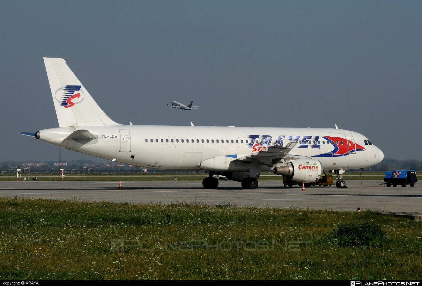 Airbus A320-211 - YL-LCE operated by Travel Service #a320 #a320family #airbus #airbus320 #travelservice