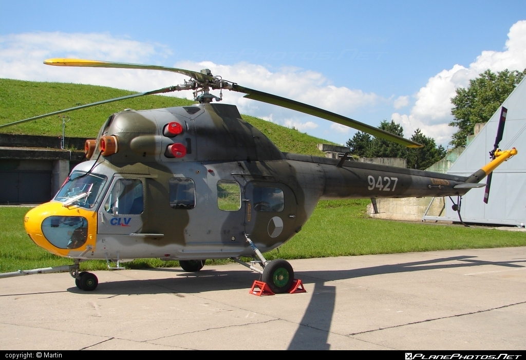 Mil Mi-2 - 9427 operated by Centrum leteckého výcviku (Flight Training Center) #mil #milhelicopters