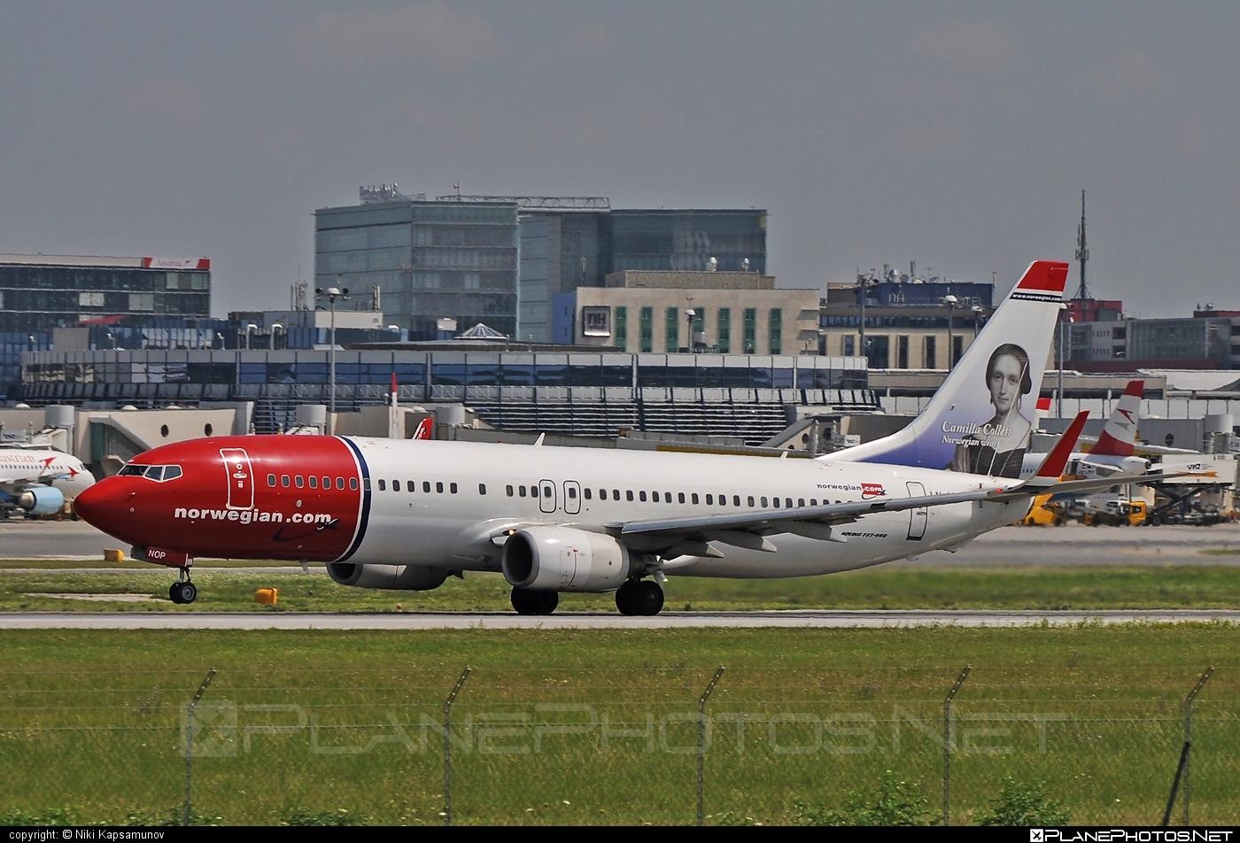 Boeing 737-800 - LN-NOP operated by Norwegian Air Shuttle #b737 #b737nextgen #b737ng #boeing #boeing737 #norwegian #norwegianair #norwegianairshuttle