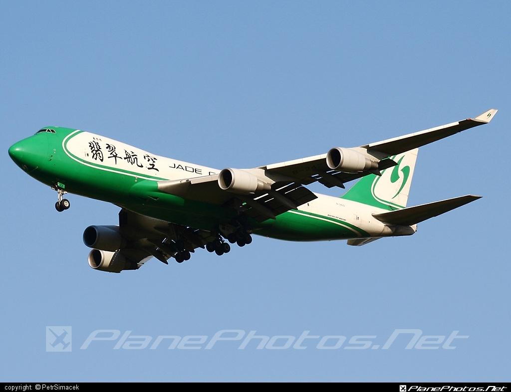Boeing 747-400ERF - B-2422 operated by Jade Cargo International #b747 #b747erf #b747freighter #boeing #boeing747 #jumbo