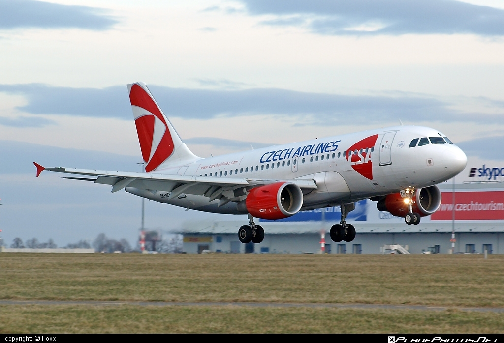 Airbus A319-112 - OK-NEM operated by CSA Czech Airlines #a319 #a320family #airbus #airbus319 #csa #czechairlines