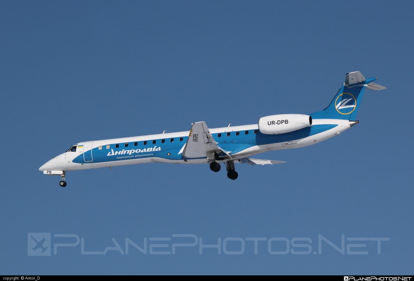 Embraer ERJ-145LR - UR-DPB operated by Dniproavia #embraer