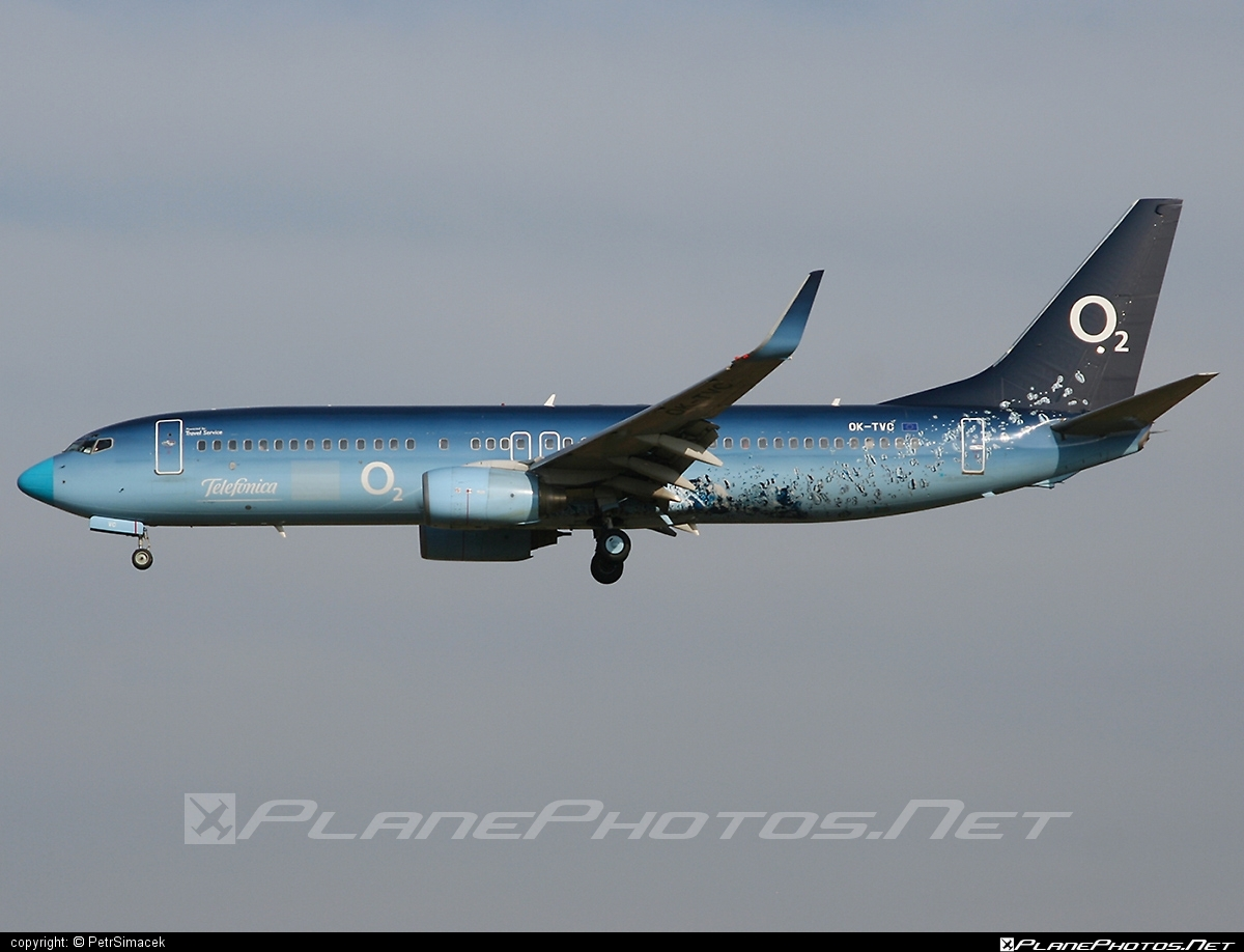 Boeing 737-800 - OK-TVC operated by Travel Service #b737 #b737nextgen #b737ng #boeing #boeing737 #travelservice