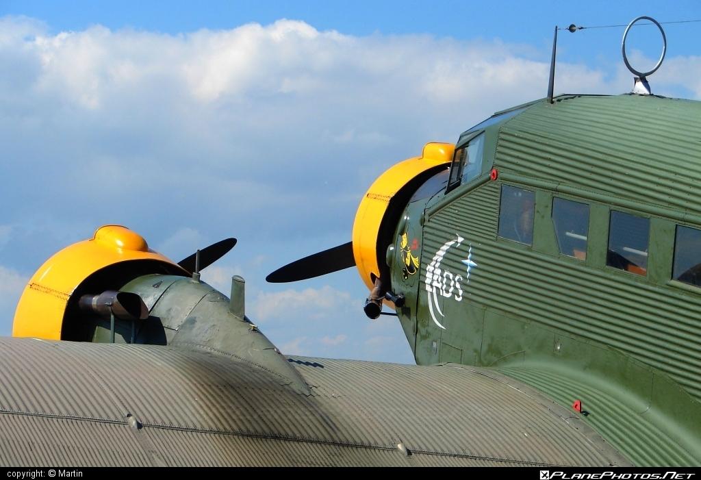 Junkers Ju-52/3m - F-AZJU operated by Private operator #ju52 #ju523m #junkers #junkers52 #junkersju52