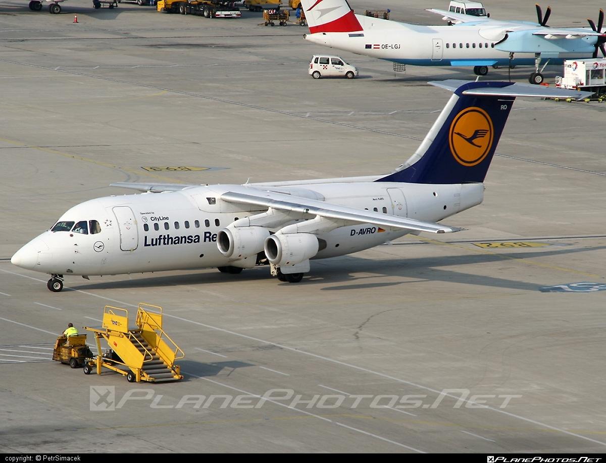 British Aerospace Avro RJ85 - D-AVRO operated by Lufthansa Regional (CityLine) #avro146rj85 #avrorj85 #bae146 #britishaerospace #jumbolino