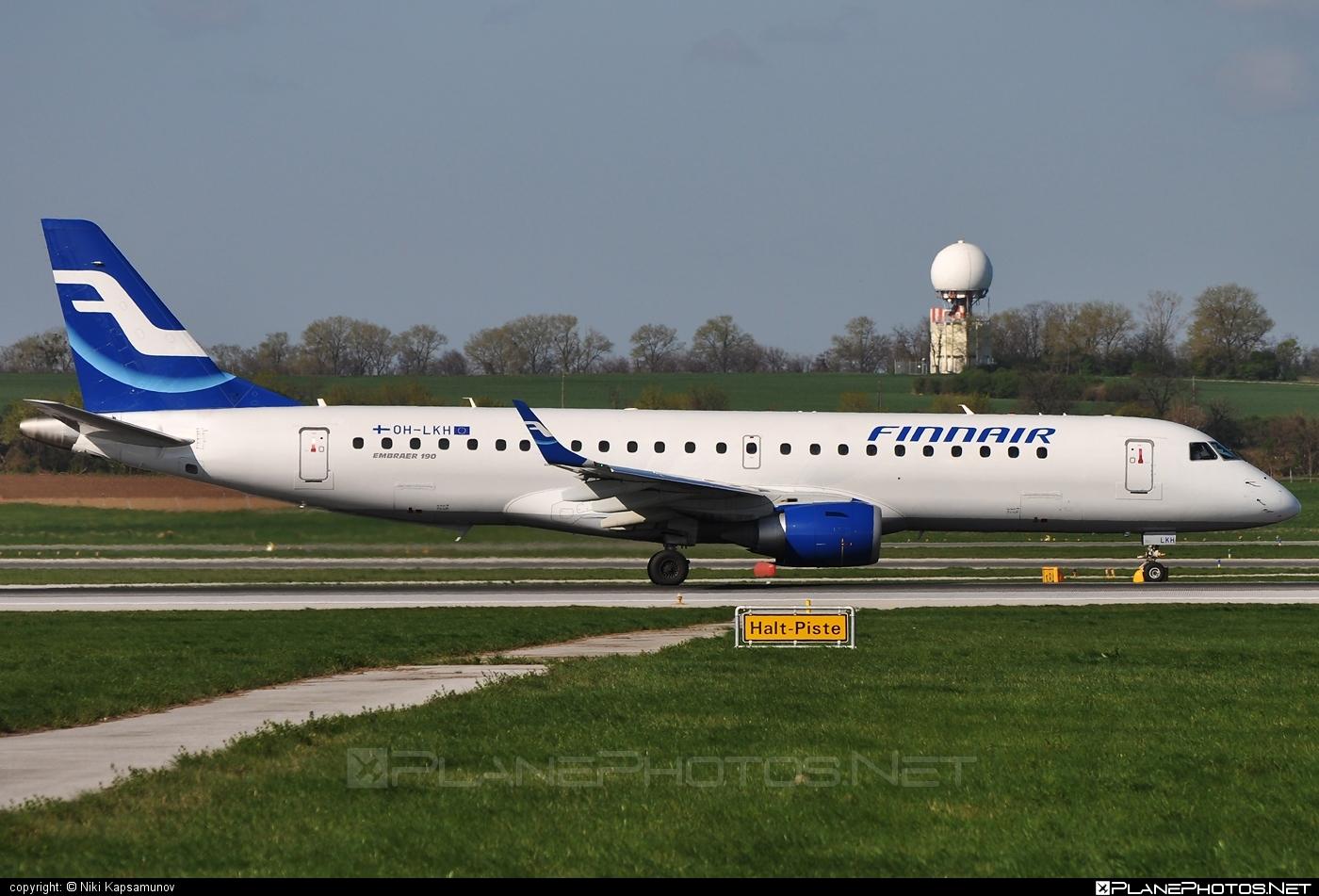 Embraer E190LR (ERJ-190-100LR) - OH-LKH operated by Finnair #e190 #e190100 #e190100lr #e190lr #embraer #embraer190 #embraer190100lr #embraer190lr #finnair