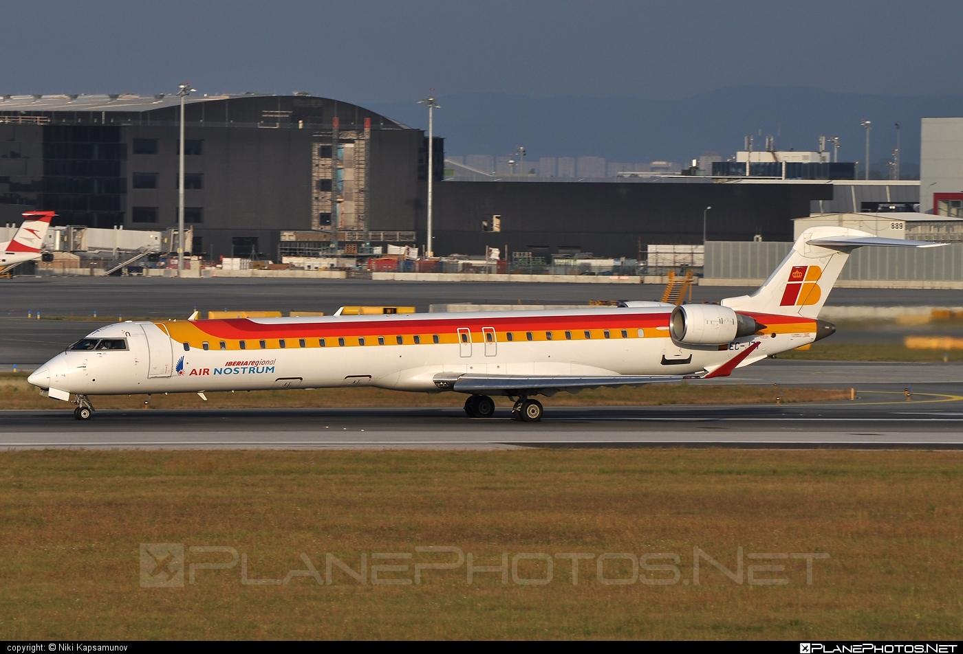 Bombardier CRJ900ER - EC-JZT operated by Iberia Regional (Air Nostrum) #airnostrum #bombardier #crj900 #crj900er #iberia #iberiaregional
