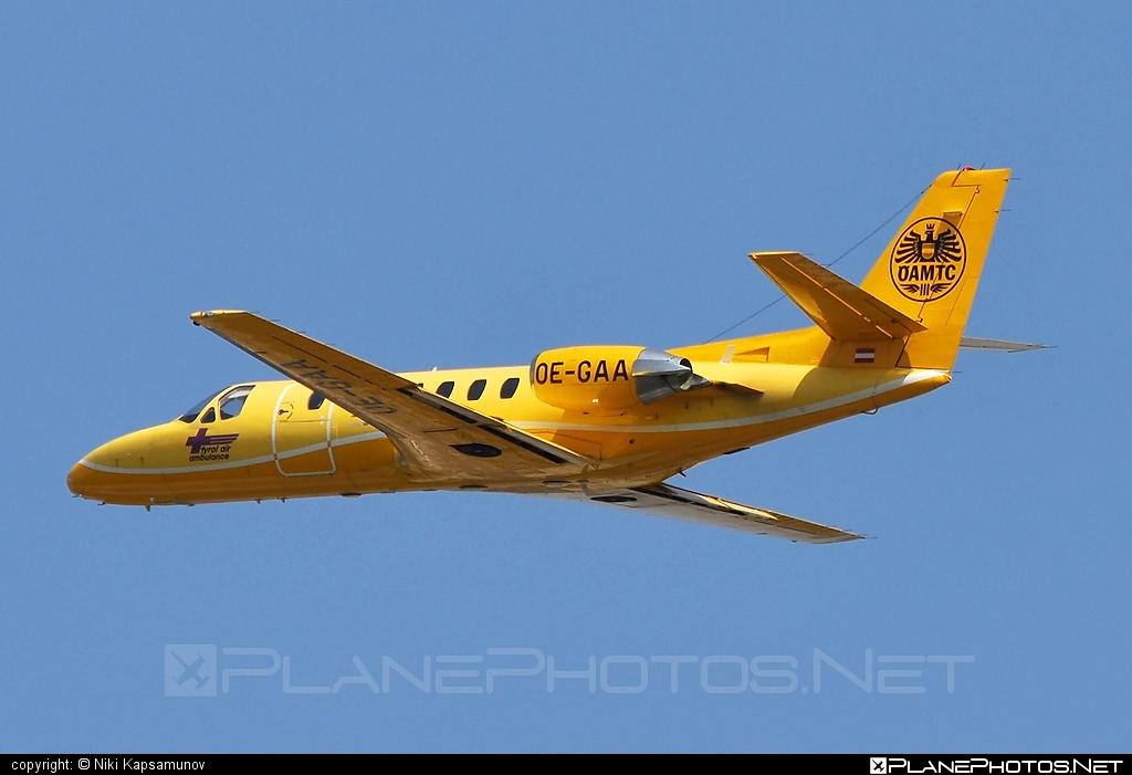 Cessna 560 Citation V - OE-GAA operated by Tyrol Air Ambulance #cessna #cessna560 #cessna560citation #cessna560citationv #cessnacitation #citationv