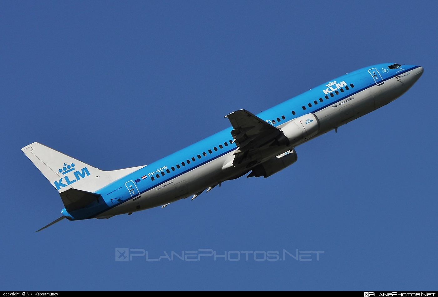 Boeing 737-400 - PH-BDW operated by KLM Royal Dutch Airlines #b737 #boeing #boeing737 #klm #klmroyaldutchairlines #royaldutchairlines