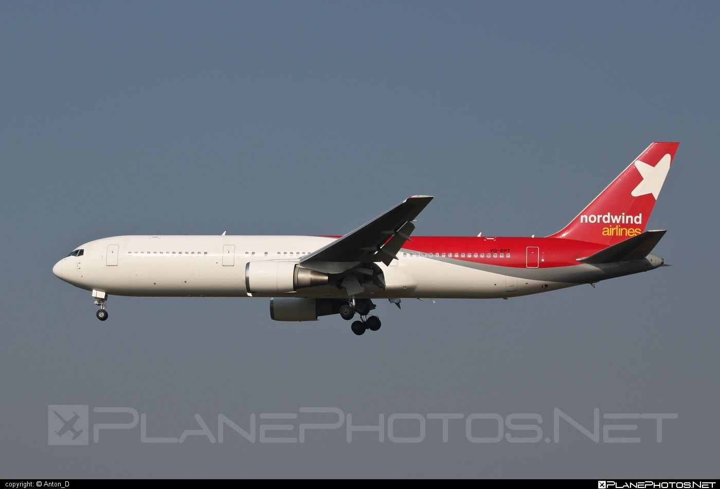 Boeing 767-300ER - VQ-BPT operated by Nordwind Airlines #b767 #b767er #boeing #boeing767