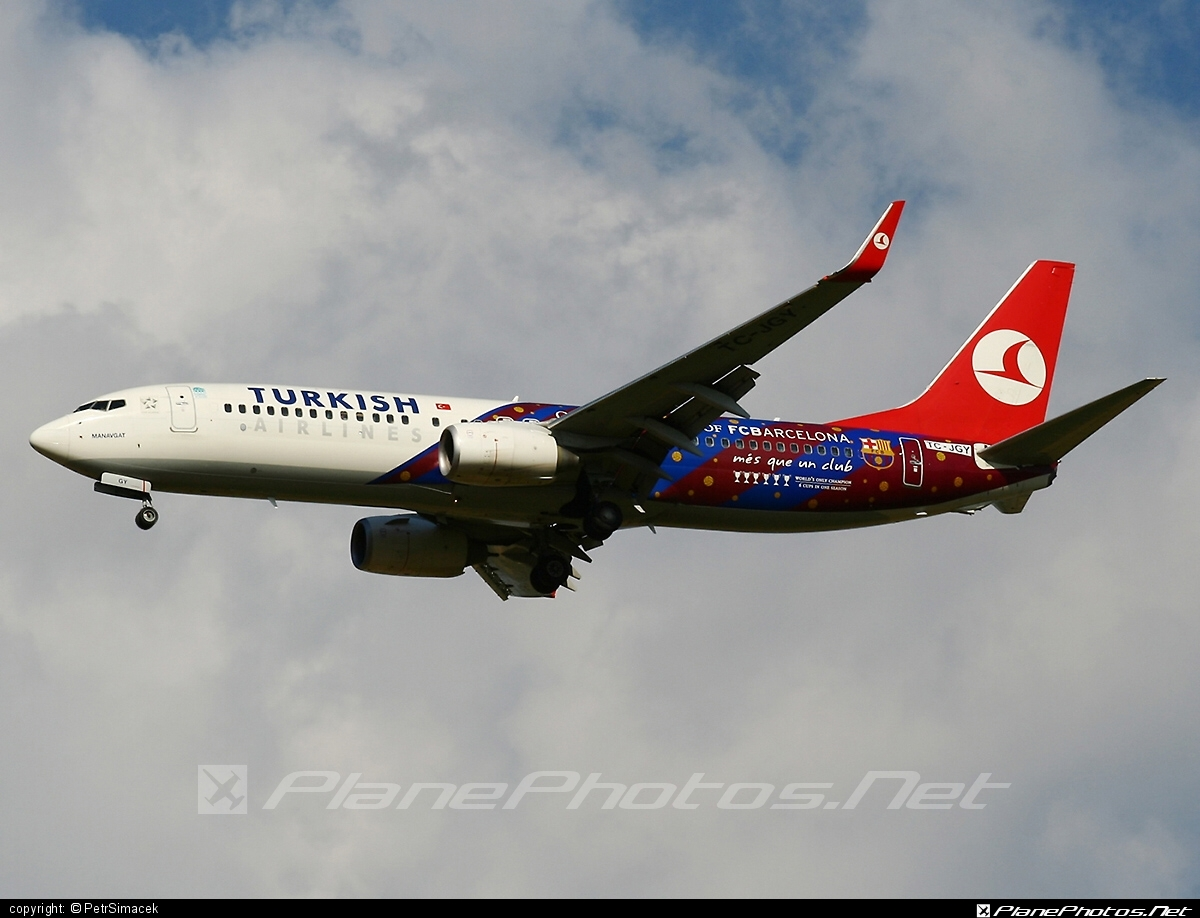Boeing 737-800 - TC-JGY operated by Turkish Airlines #b737 #b737nextgen #b737ng #boeing #boeing737 #turkishairlines