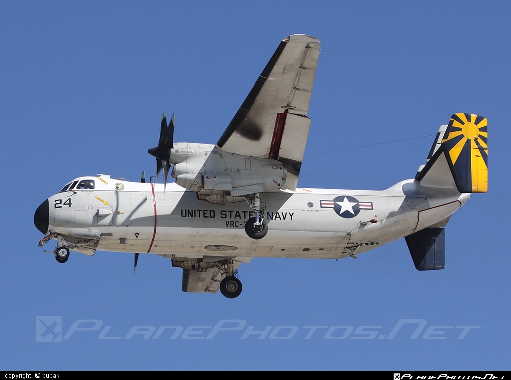 Grumman C-2A Greyhound - 162173 operated by US Navy (USN) #grumman