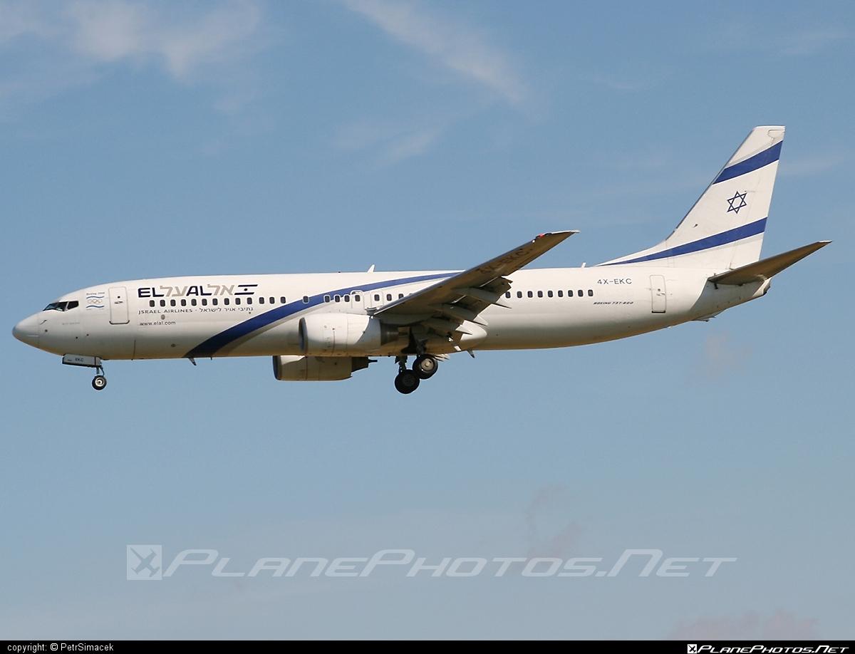 Boeing 737-800 - 4X-EKC operated by El Al Israel Airlines #b737 #b737nextgen #b737ng #boeing #boeing737 #elal #elalisraelairlines #israelairlines