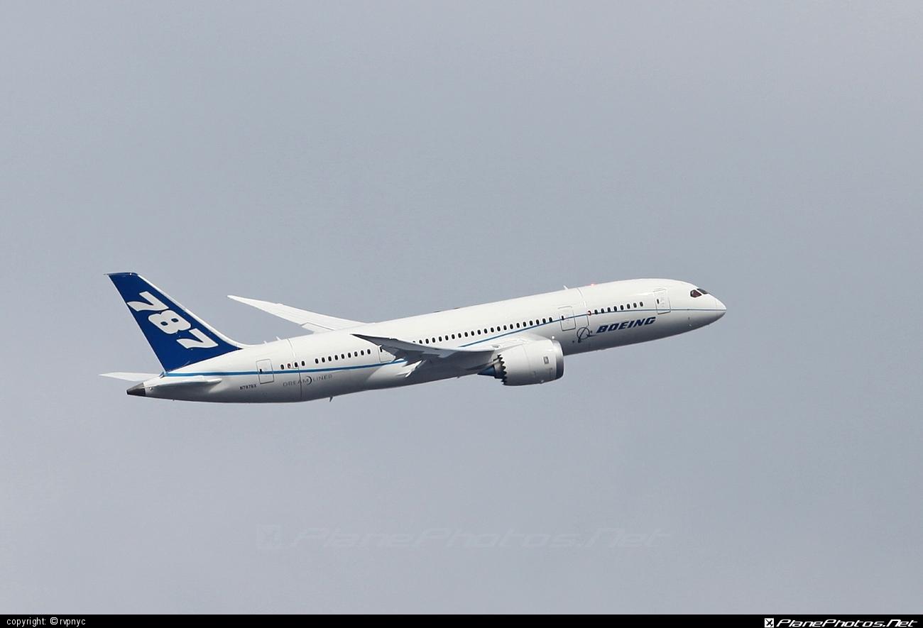 Boeing 787-8 Dreamliner - N787BX operated by Boeing Company #b787 #boeing #boeing787 #dreamliner