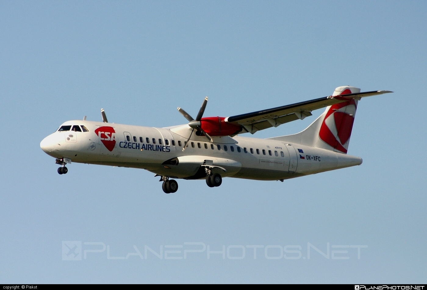 ATR 72-202 - OK-XFC operated by CSA Czech Airlines #atr #csa #czechairlines