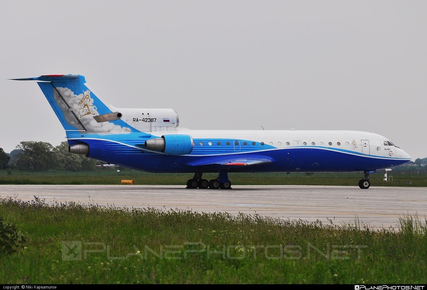 Yakovlev Yak-42D - RA-42387 operated by Yak Service #yak #yak42 #yak42d #yakovlev