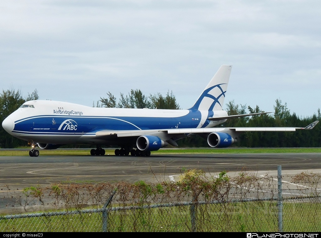 Boeing 747-400ERF - VP-BIM operated by AirBridgeCargo #airbridgecargo #b747 #b747erf #b747freighter #boeing #boeing747 #jumbo
